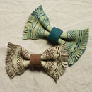 fringed bow tie